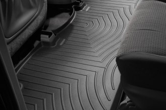 WeatherTech® 440872 - DigitalFit™ Molded Floor Liner (2nd Row, Black)