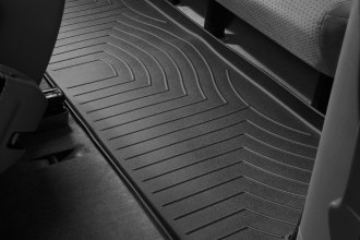 WeatherTech® 440873 - DigitalFit™ Molded Floor Liners (3rd Row, Black)