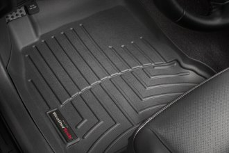 WeatherTech® 440921 - DigitalFit™ Molded Floor Liners (1st Row, Black)
