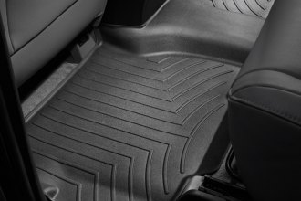 WeatherTech® 440934 - DigitalFit™ Molded Floor Liner (2nd Row, Black)