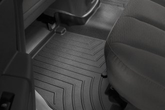 WeatherTech® 440962 - DigitalFit™ Molded Floor Liner (2nd Row, Black)