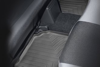 WeatherTech® 440972 - DigitalFit™ Molded Floor Liners (2nd Row, Black)