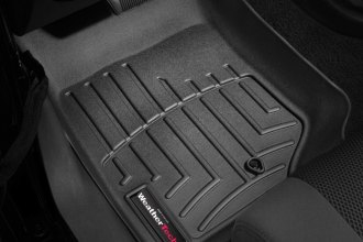 WeatherTech® 441051 - DigitalFit™ Molded Floor Liners (1st Row, Black)