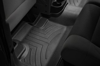 WeatherTech® 441052 - DigitalFit™ Molded Floor Liner (2nd Row, Black)