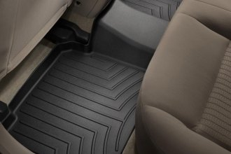 WeatherTech® 441082 - DigitalFit™ Molded Floor Liner (2nd Row, Black)