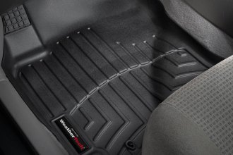 WeatherTech® 441091 - DigitalFit™ Molded Floor Liners (1st Row, Black)