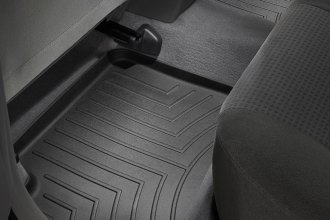 WeatherTech® 441092 - DigitalFit™ Molded Floor Liners (2nd Row, Black)