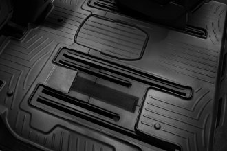 WeatherTech® 441114 - DigitalFit™ Molded Floor Liners (2nd and 3rd Row, Black)