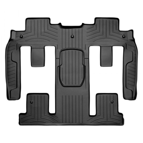 WeatherTech® - DigitalFit™ Molded Floor Liners - 2nd and 3rd Row, Black