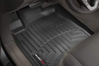 WeatherTech® 441141 - DigitalFit™ Molded Floor Liners (1st Row, Black)
