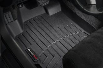 WeatherTech® 441181 - DigitalFit™ Molded Floor Liners (1st Row, Black)