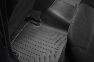 WeatherTech® 441182 - DigitalFit™ Molded Floor Liners (2nd Row, Black)