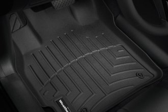 WeatherTech® 441221 - DigitalFit™ Molded Floor Liners (1st Row, Black)