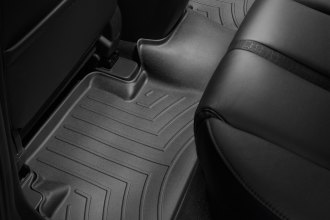 WeatherTech® 441222 - DigitalFit™ Molded Floor Liner (2nd Row, Black)