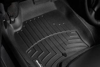 WeatherTech® 441241 - DigitalFit™ Molded Floor Liners (1st Row, Black)