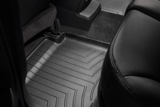 WeatherTech® 441242 - DigitalFit™ Molded Floor Liners (2nd Row, Black)