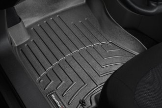 WeatherTech® 441351 - DigitalFit™ Molded Floor Liners (1st Row, Black)