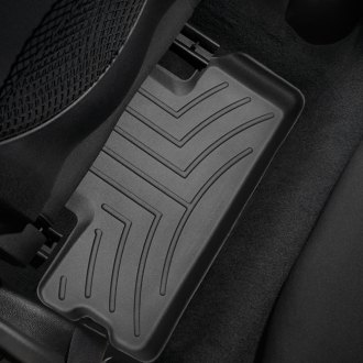 WeatherTech® - DigitalFit™ Molded Floor Liners (2nd Row, Black)