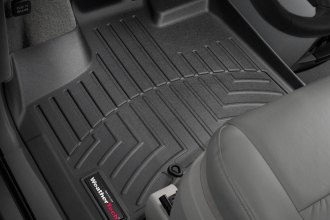 WeatherTech® 441411 - DigitalFit™ Molded Floor Liners (1st Row, Black)