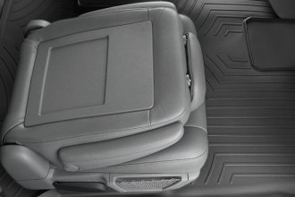 WeatherTech® 441414 - DigitalFit™ Molded Floor Liners (2nd and 3rd Row, Black)
