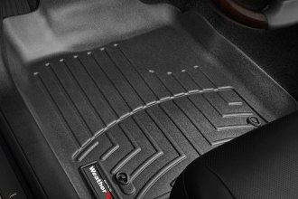 WeatherTech® 441431 - DigitalFit™ Molded Floor Liners (1st Row, Black)
