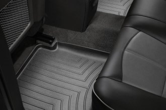 WeatherTech® 441442 - DigitalFit™ Molded Floor Liners (2nd Row, Black)