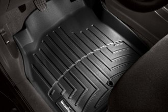 WeatherTech® 441451 - DigitalFit™ Molded Floor Liners (1st Row, Black)