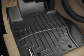 WeatherTech® 441461 - DigitalFit™ Molded Floor Liners (1st Row, Black)
