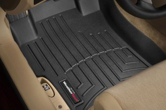 WeatherTech® 441481 - DigitalFit™ Molded Floor Liners (1st Row, Black)