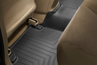 WeatherTech® 441482 - DigitalFit™ Molded Floor Liner (2nd Row, Black)