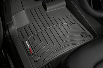 WeatherTech® 441511 - DigitalFit™ Molded Floor Liners (1st Row, Black)