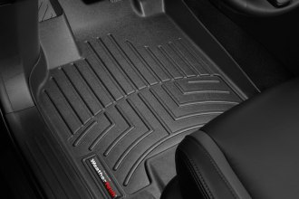 WeatherTech® 441531 - DigitalFit™ Molded Floor Liners (1st Row, Black)