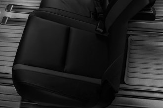 WeatherTech® 441532 - DigitalFit™ Molded Floor Liner (2nd and 3rd Row, Black)