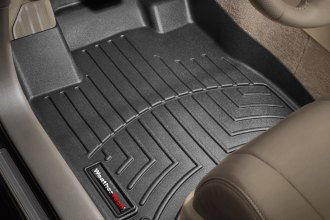 WeatherTech® 441541 - DigitalFit™ Molded Floor Liners (1st Row, Black)