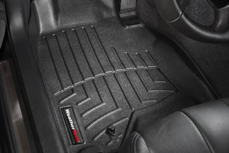 WeatherTech® 441561 - DigitalFit™ Molded Floor Liners (1st Row, Black)