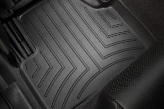 WeatherTech® 441562 - DigitalFit™ Molded Floor Liners (2nd Row, Black)