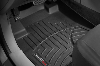WeatherTech® 441591 - DigitalFit™ Molded Floor Liners (1st Row, Black)