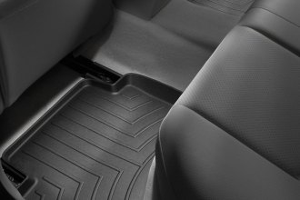 WeatherTech® 441612 - DigitalFit™ Molded Floor Liners (2nd Row, Black)