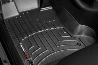 WeatherTech® 441641 - DigitalFit™ Molded Floor Liners (1st Row, Black)