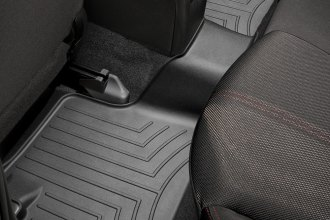 WeatherTech® 441662 - DigitalFit™ Molded Floor Liner (2nd Row, Black)