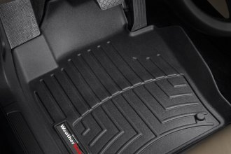 WeatherTech® 441671 - DigitalFit™ Molded Floor Liners (1st Row, Black)