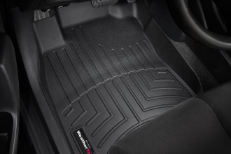 WeatherTech® 441681 - DigitalFit™ Molded Floor Liners (1st Row, Black)