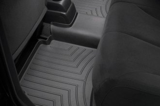 WeatherTech® 441682 - DigitalFit™ Molded Floor Liners (2nd Row, Black)