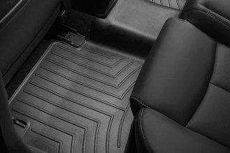 WeatherTech® 441712 - DigitalFit™ Molded Floor Liners (2nd Row, Black)