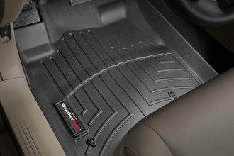 WeatherTech® 441741 - DigitalFit™ Molded Floor Liners (1st Row, Black)