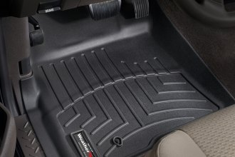 WeatherTech® 441791 - DigitalFit™ Molded Floor Liners (1st Row, Black)