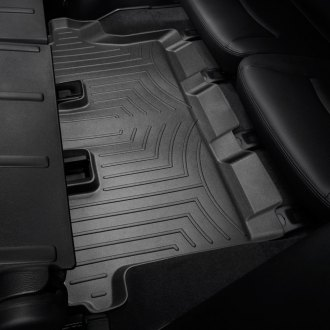 WeatherTech® - DigitalFit™ Molded Floor Liner (3rd Row, Black)