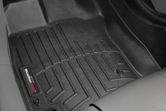WeatherTech® 441831 - DigitalFit™ Molded Floor Liners (1st Row, Black)
