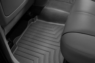 WeatherTech® 441832 - DigitalFit™ Molded Floor Liner (2nd Row, Black)