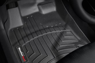 WeatherTech® 441861 - DigitalFit™ Molded Floor Liners (1st Row, Black)